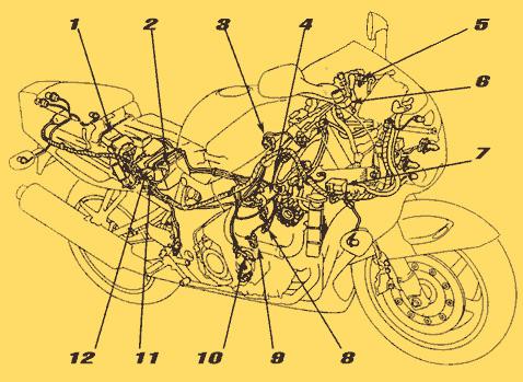 электросхема иж 49