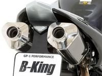Выхлопная система от BOS для Suzuki B-King